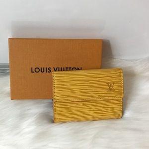 100% Auth Louis Vuitton Coin/ Business Card Holder